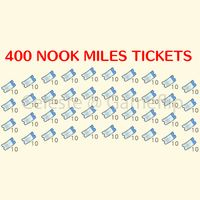 Nook Miles Tickets | 400x NMT