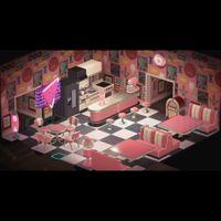 Furniture   Pink Diner Set