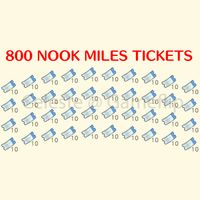 Nook Miles Tickets | 800x NMT