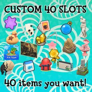 Custom order - Any 40 items