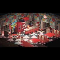 Furniture | Red Diner Set