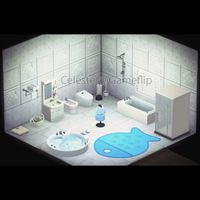 Furniture   Blue/White Bathroom