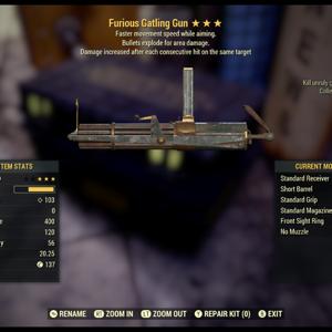 Weapon   FE Gatling gun