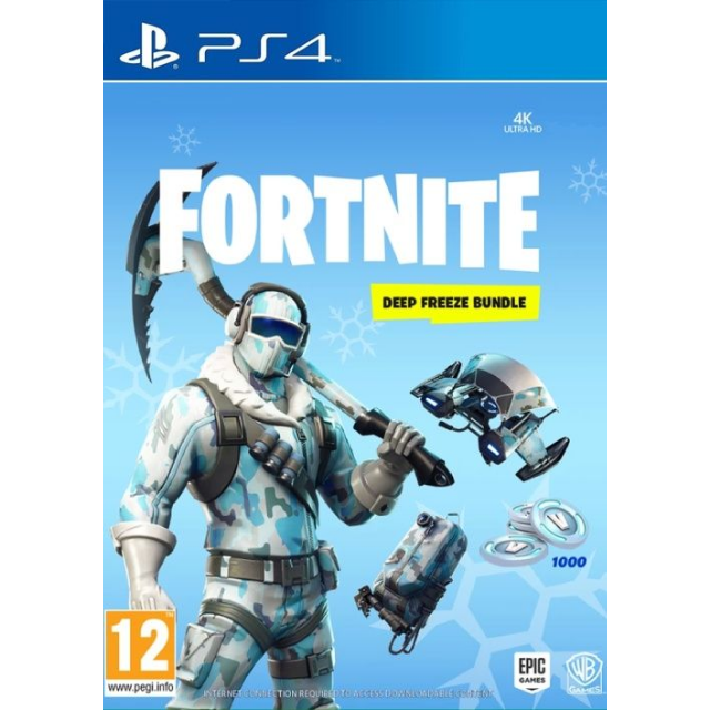 Fortnite Deep Freeze Bundle PS4 (Europe)