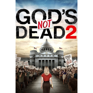 God's Not Dead 2 HDX UV - Instant Delivery