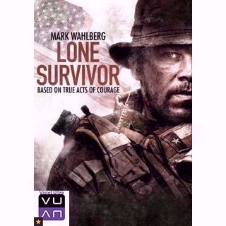 Lone Survivor HDX UltraViolet or iTunes - Instant Delivery!