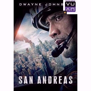 San Andreas HD MA / Vudu - Instant Delivery!