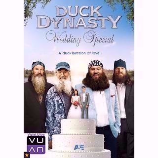 Duck Dynasty: Wedding Special SD Vudu - Instant Delivery!