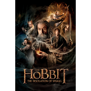 The Hobbit: The Desolation of Smaug HDX Vudu / MA - Instant Delivery!