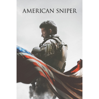 American Sniper HDX Vudu / MA - Instant Delivery!