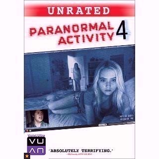 Paranormal Activity 4 HD iTunes / MoviesAnywhere - Instant Delivery!