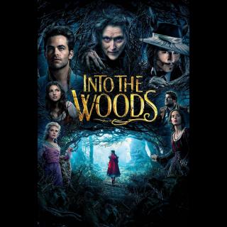 Into the Woods HDX UV / MA / Vudu / iTunes