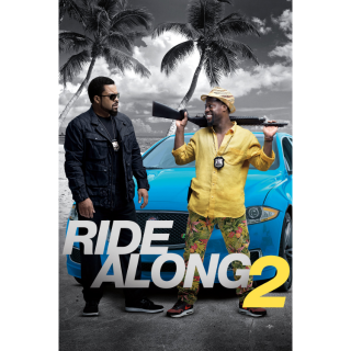 Ride Along 2 HD iTunes / MA port - Instant Delivery!