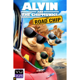 Alvin & The Chipmunks: The Road Chip HDX UltraViolet or iTunes or Google Play or Movies Anywhere - Instant Delivery!