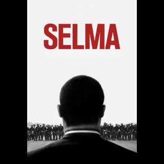 Selma HDX Vudu / iTunes - Instant Delivery!