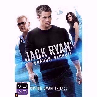 Jack Ryan: Shadow Recruit HDX UltraViolet or MoviesAnywhere - Instant Delivery!