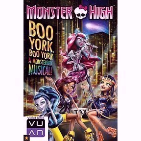 Monster High: Boo York Boo York HD iTunes / MA port - Instant Delivery!