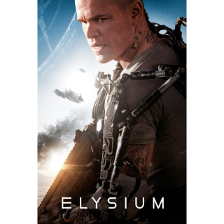 Elysium SD MA / Vudu - Instant Delivery!