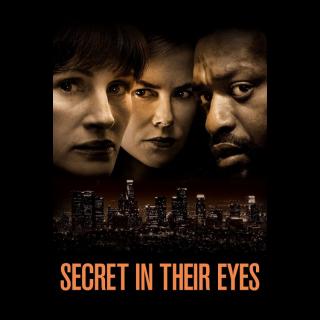 Secret in Their Eyes HDX Vudu - Instant Delivery!