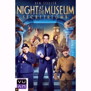 Night at the Museum: Secret of the Tomb HDX UV or iTunes or Movies Anywhere - Instant Delivery!