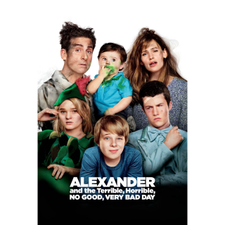 Alexander and the Terrible, Horrible, No Good, Very Bad Day MA / iTunes / Vudu