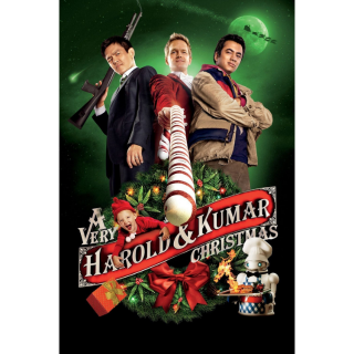 A Very Harold & Kumar Christmas HDX UV / MoviesAnywhere