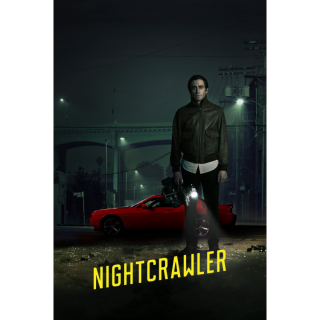 Nightcrawler HD iTunes - Instant Delivery!