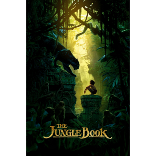 The Jungle Book HD MA / Vudu / iTunes - Instant Delivery!