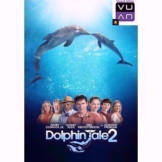 Dolphin Tale 2 HDX Vudu / MA - Instant Delivery!