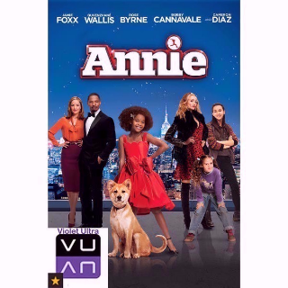 Annie (2014) HD UV / MA / Vudu - Instant Delivery!