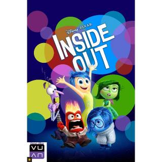 Inside Out HDX Vudu/DMA/iTunes/Google Play