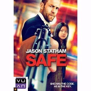 Safe (Statham) SD Vudu / iTunes / MA port - Instant Delivery!