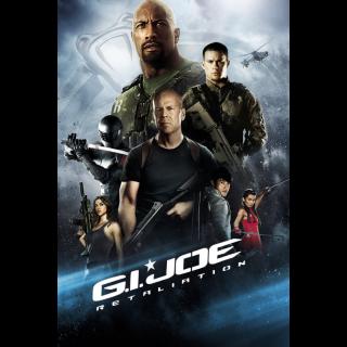 G.I. Joe: Retaliation HDX Vudu / iTunes - Instant Delivery!