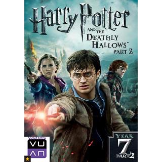 Harry Potter and the Deathly Hallows, Part 2 (Finale!) HD MA / UV / Vudu- Instant Delivery!