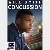 Concussion SD MA / Vudu - Instant Delivery!