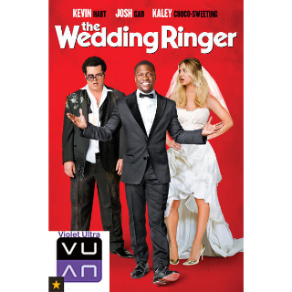The Wedding Ringer SD UV / Vudu / MA - Instant Delivery!