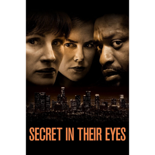 Secret in Their Eyes HDX Vudu - Instant Delivery!