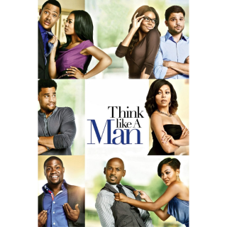 Think Like a Man HD MA / Vudu - Instant Delivery!