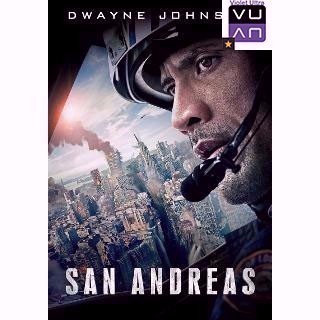 San Andreas HDX UltraViolet - Instant Delivery!