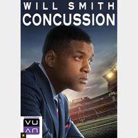 Concussion HDX Vudu / MA - Instant Delivery!