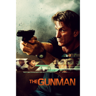 The Gunman HD iTunes  - Instant Delivery!