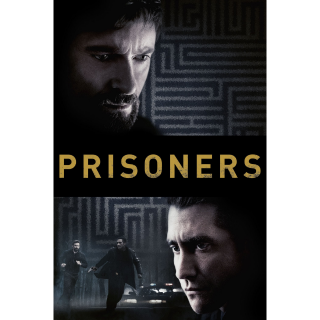 Prisoners HD MA / Vudu - Instant Delivery!