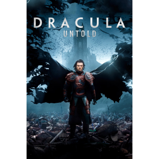 Dracula Untold HD iTunes / MA port - Instant Delivery!