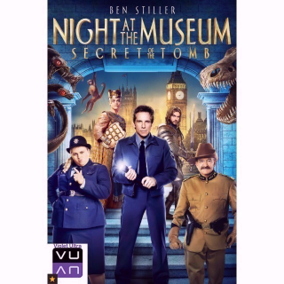 Night at the Museum: Secret of the Tomb HD MA / Vudu / iTunes  - Instant Delivery!
