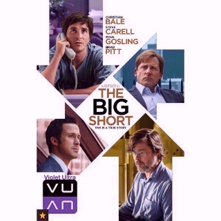 The Big Short HD iTunes / ports to MA - Instant Delivery!