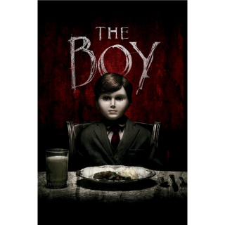The Boy HDX Vudu / iTunes / MA port - Instant Delivery!