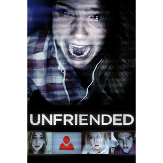 Unfriended iTunes /MoviesAnywhere Only