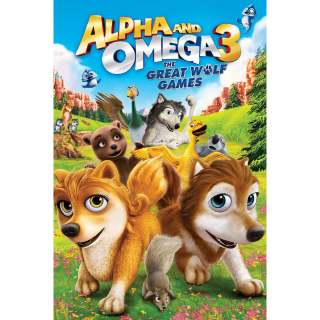 Alpha and Omega 3: The Great Wolf Games SD Vudu - Instant Delivery!