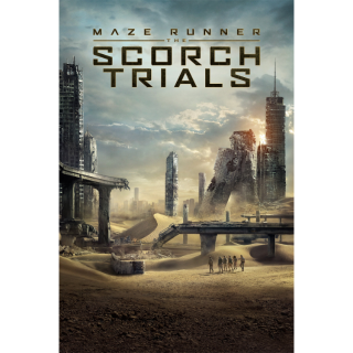 Maze Runner: The Scorch Trials HD MA / Vudu - Instant Delivery!