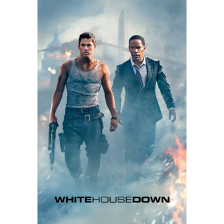 White House Down HD MA / Vudu - Instant Delivery!